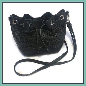 Rebecca Minkoff Fiona Bucket Bag Black